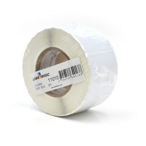 "2"" x 1"" Glossy Inkjet Label Roll"