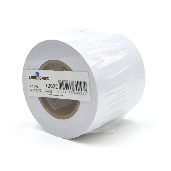 "3"" Continuous Matte Inkjet Label Roll"