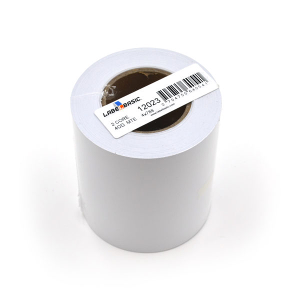 """4"""" Continuous Matte Inkjet Label Roll"""