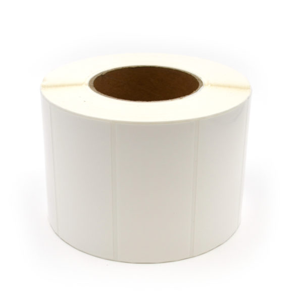 "4"" x 2"" Glossy Polypropylene Inkjet Label Roll"