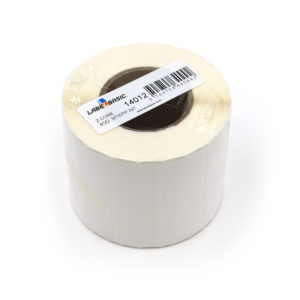 "3"" x 1"" Matte Polypropylene Inkjet Label Roll"