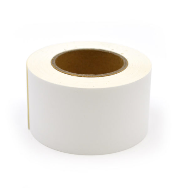 "2"" Continuous Matte Polypropylene Inkjet Label Roll"