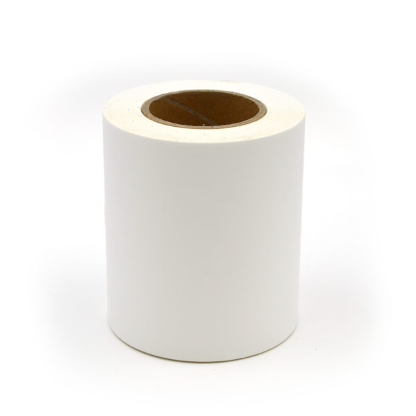 "4"" Continuous Matte Polypropylene Inkjet Label Roll"