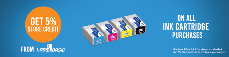 Buy Epson TM-C3500 Ink at LabelBasic and get CashBack