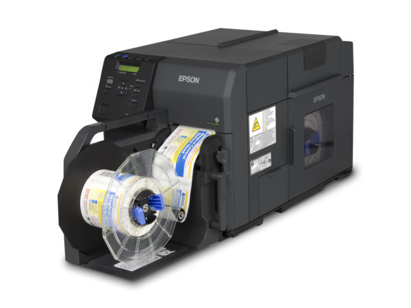 Shop Epson TM-C7500GE with Rewinder at LabelBasic