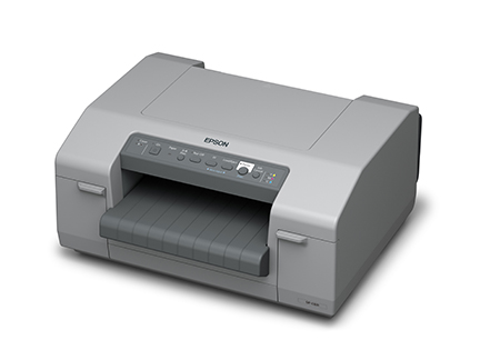 Left View Epson C-831 Drum Label Printer at LabelBasic