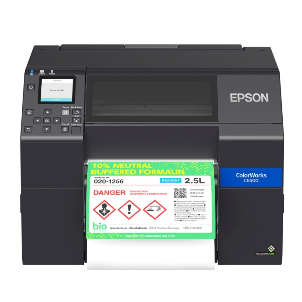 Shop Epson ColorWorks CW-C6500P Color Label Printer at LabelBasic