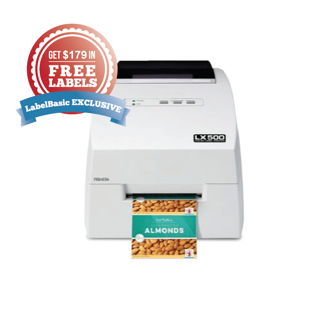 Get $179 in Free Labels with a Purchase of a LX500