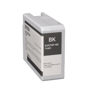 LabelBasic Sells Epson ColorWorks CW-C6000C6500 Black Ink Cartridge SJIC35P